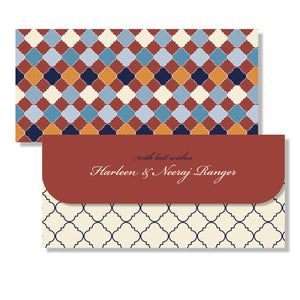 Personalised Money Envelopes - Trellis