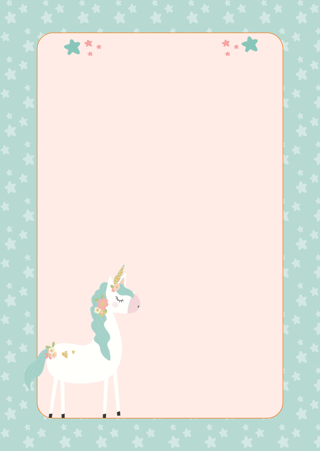 Note Pad - Magical Unicorn