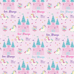 Personalised Wrapping Paper - Fairies & Unicorns