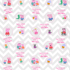 Personalised Wrapping Paper - Peppa Party