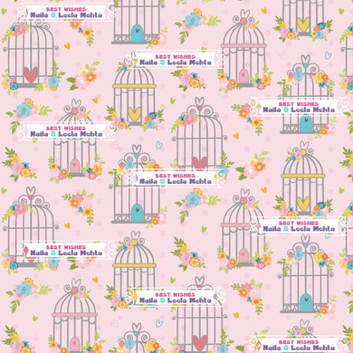 Personalised Wrapping Paper - Birdsong