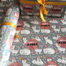 Personalised Wrapping Paper - Cat Tales