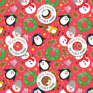 Personalised Wrapping Paper - Cheery O