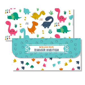 Money Envelopes for Kids - Dinosaurs