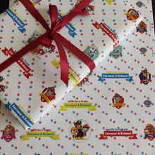Personalised Wrapping Paper - Paw Patrol