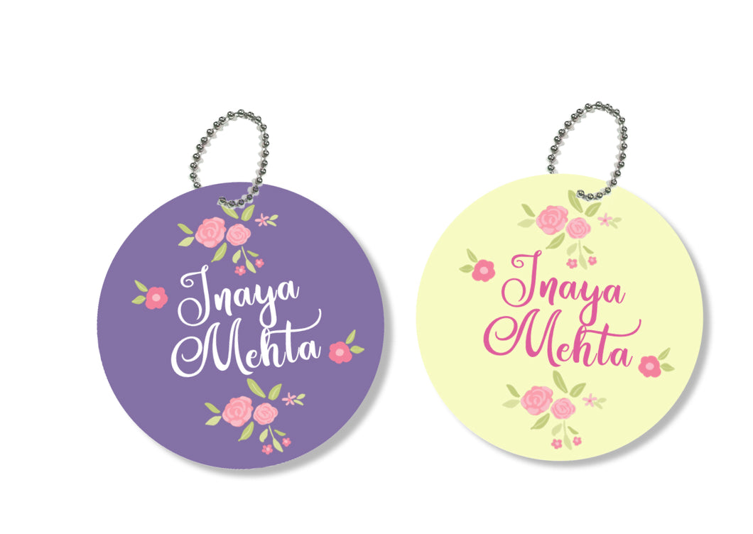 Bag Tags - Floral Medley
