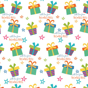 Personalised Wrapping Paper - Gifts Of Love