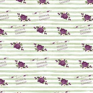 Personalised Wrapping Paper - Green Beauty