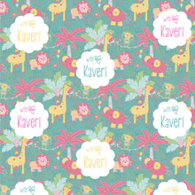 Personalised Wrapping Papers - Jungle Safari