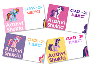 Book Labels - My Little Pony