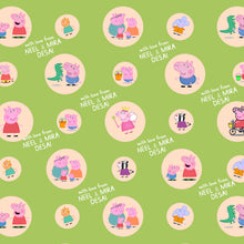 peppa pig Personalised wrapping paper