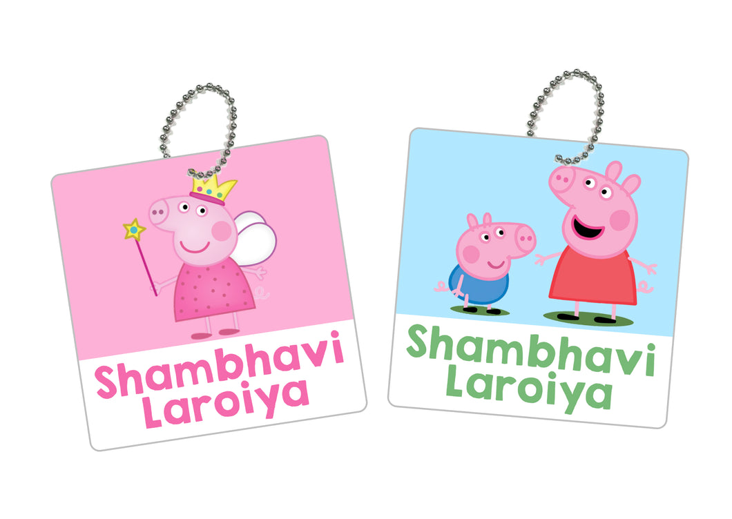 Bag Tags - Peppa Pig
