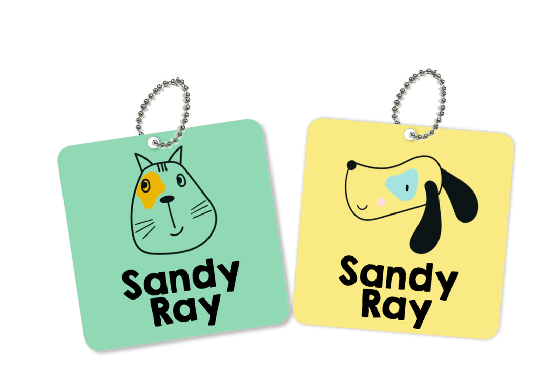 Bag Tags - Pet Love