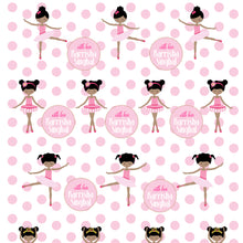 Personalised Wrapping Paper - Pink Polka Ballet