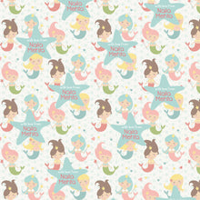 Personalised Wrapping Paper - Pretty Mermaids