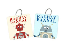Bag Tags - Robotic