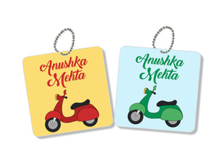 Bag Tags - Scooty