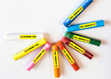 slim labels for pencils and crayons