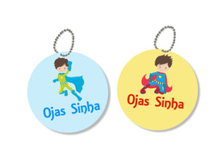 Bag Tags - Super Hero