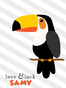 Ribbon Tags - Toucan