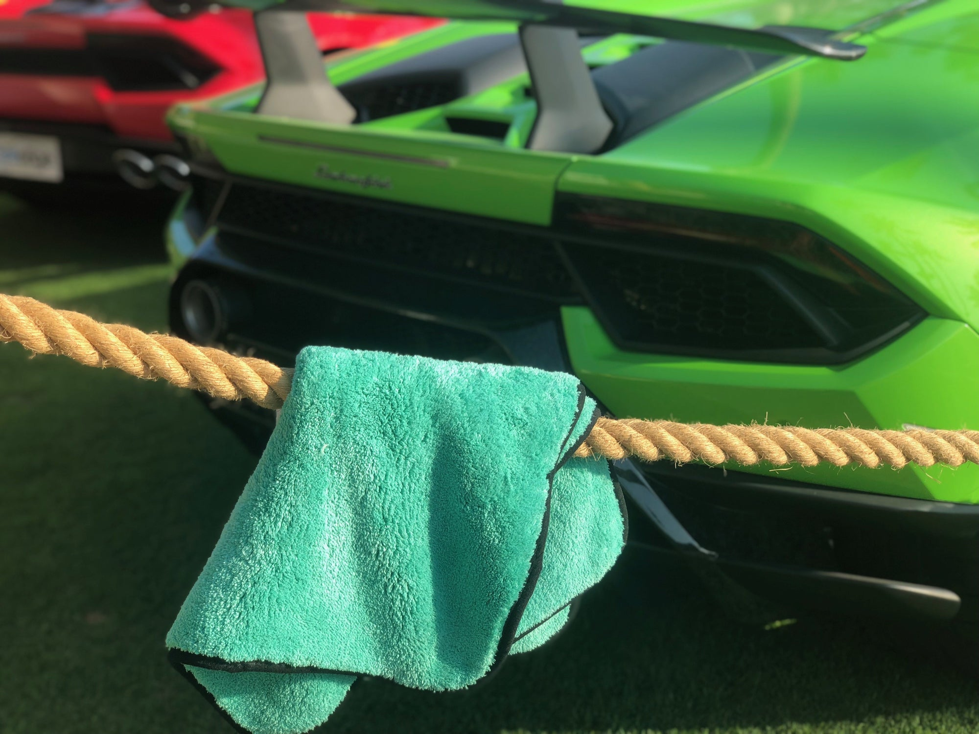 How to properly care for microfiber towels - GT Shine - car drying towel