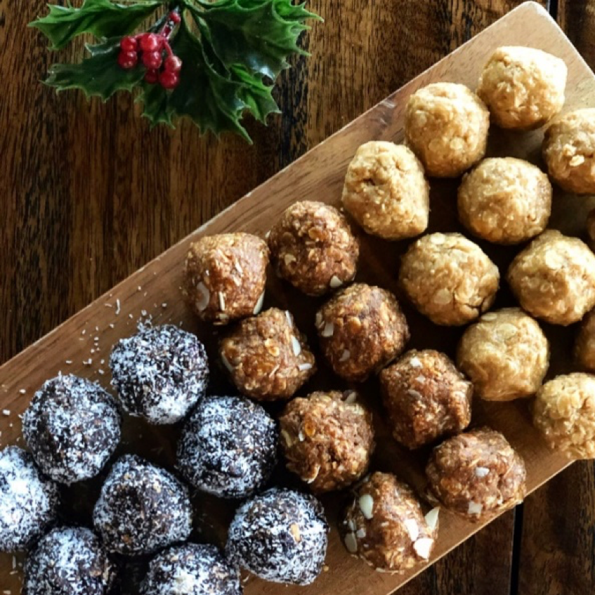 NUT BUTTER BLISS BALLS