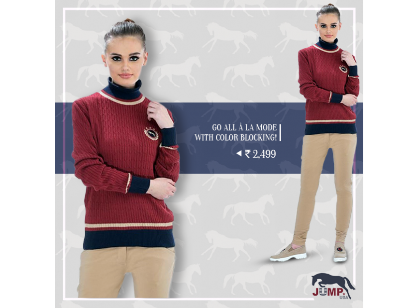 LOOK SMART-CASUAL WITH SWEATERS