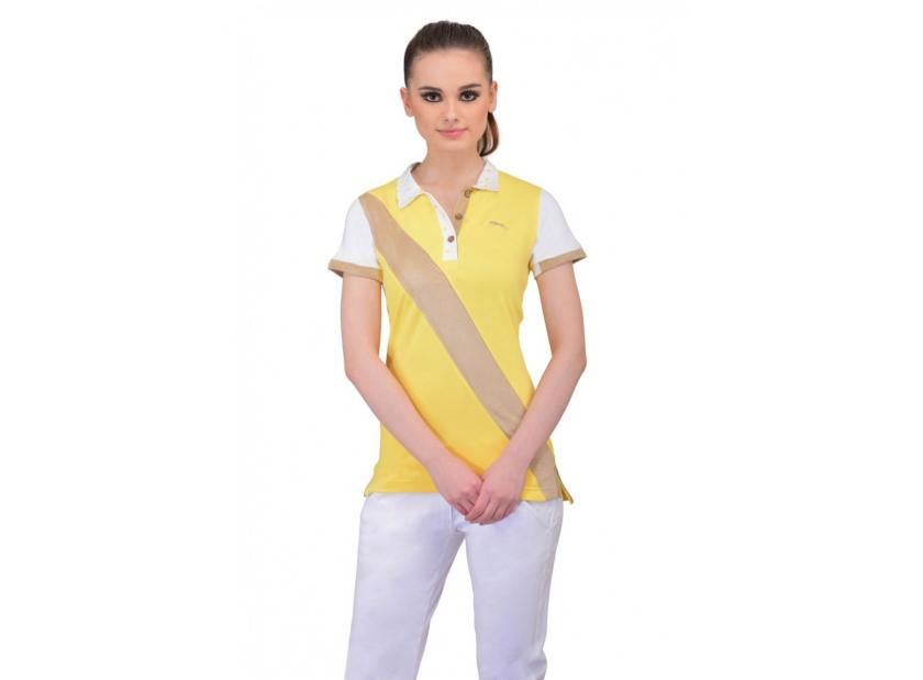 ADD THE COLLAR MAGIC TO YOUR LOOK WITH POLO T-SHIRTS FOR WOMEN
