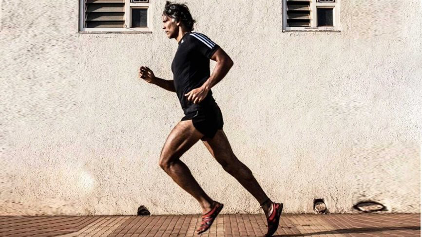 The one running ensemble you'll have to cop from Milind Soman