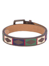 Men Brown Leather Belt - JUMP USA
