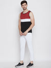 JUMP USA Men White Polyster Slim Fit Sports Track Pant - JUMP USA