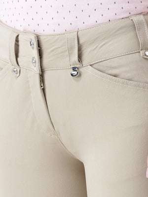Women's Stylish Cross Pocket Jegging