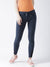 Women Navy Blue Slim Fit Trouser