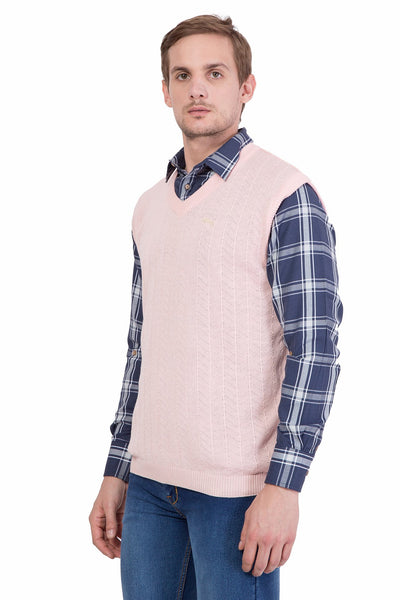 Men Half Sleeve Cotton Sweater - JUMP USA