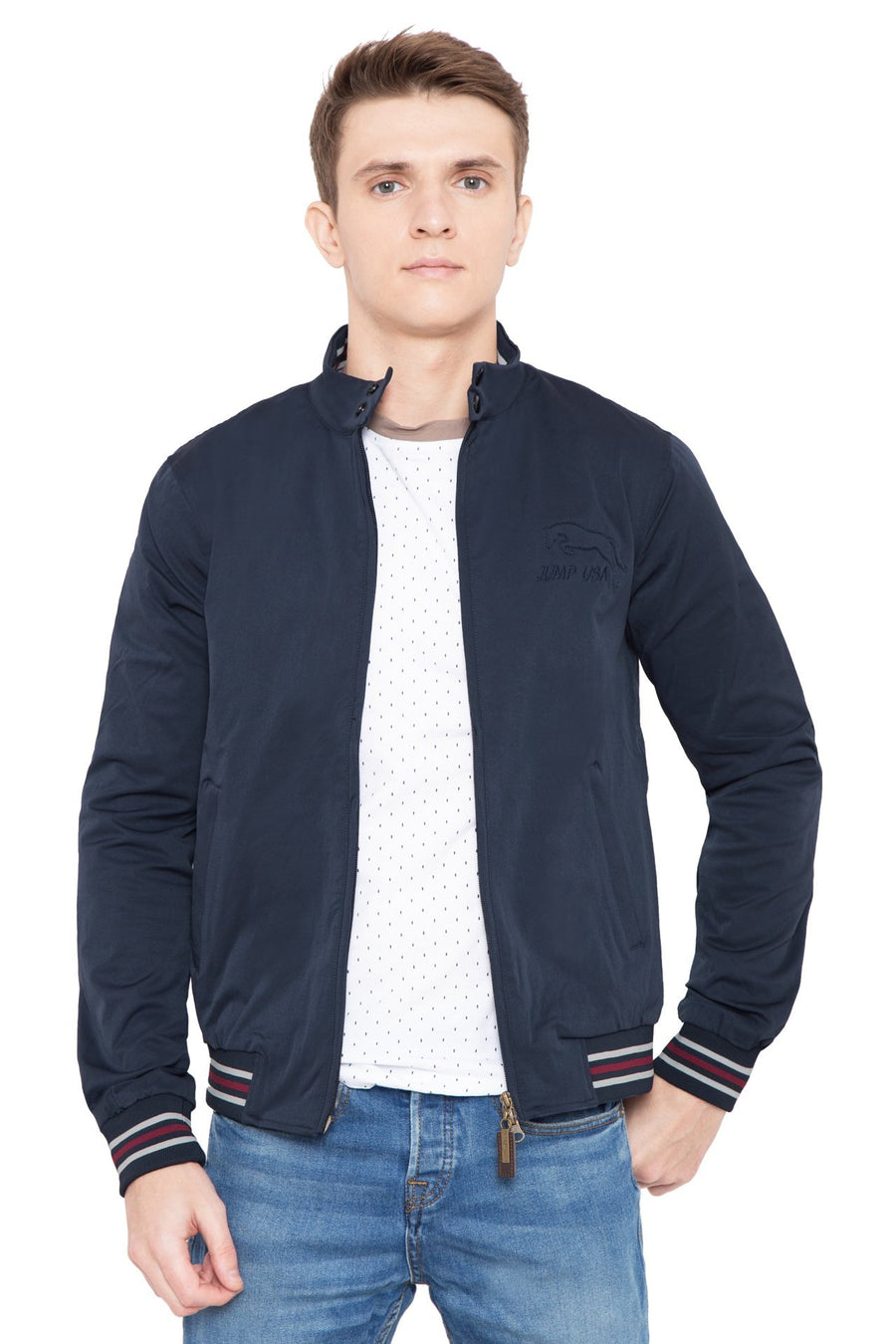 Men Tommy Navy Jacket