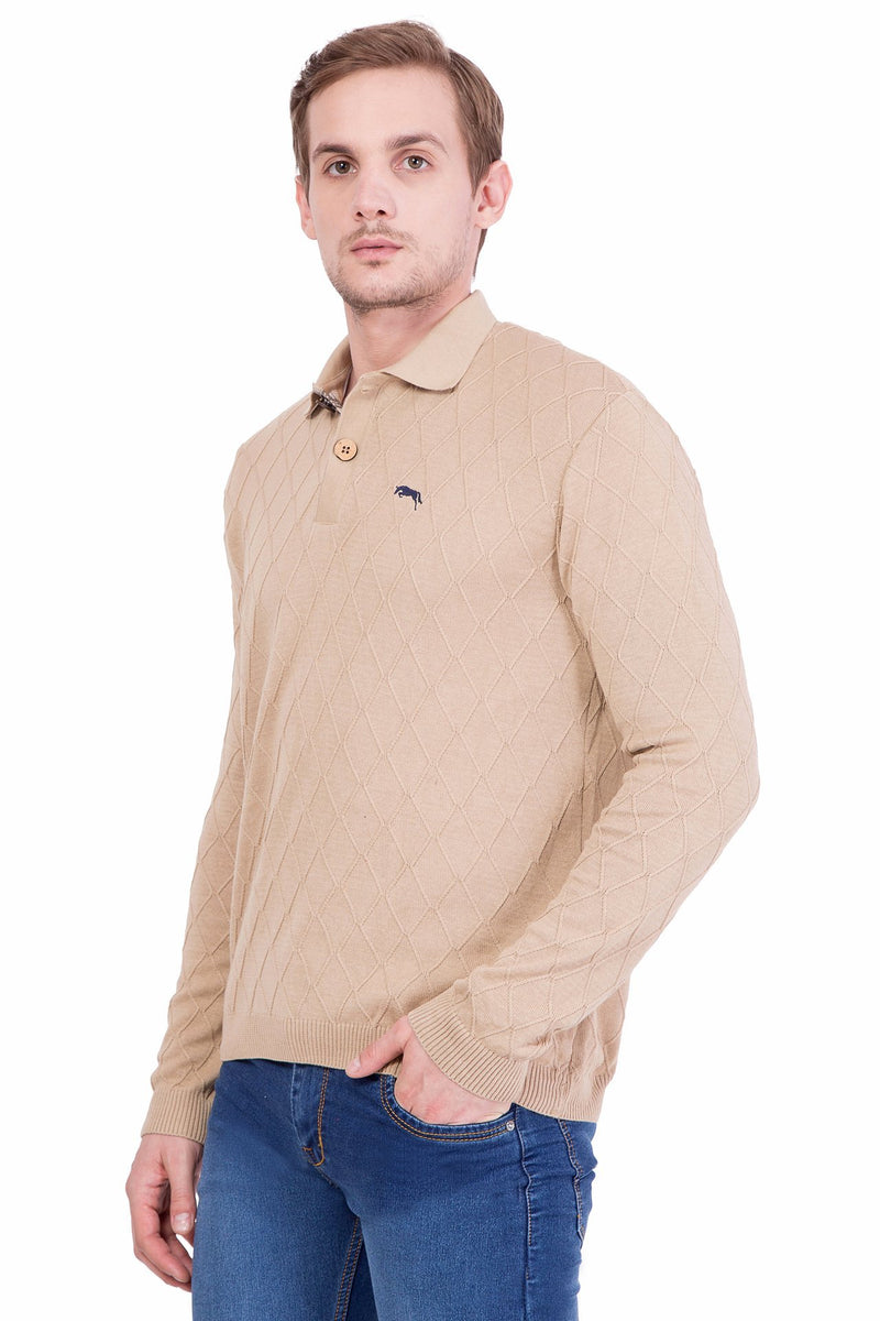 Men Full Sleeve Cotton Sweater