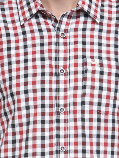 Men Full Sleeve Check Shirt - JUMP USA
