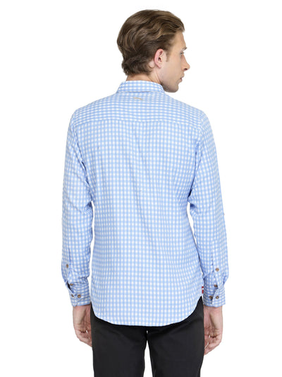 Men Full Sleeve Dorit Shirt - Relaxed Fit - JUMP USA