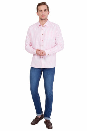 Men's Full Sleeve Relaxed Fit Multicolor Shirt - Jump USA