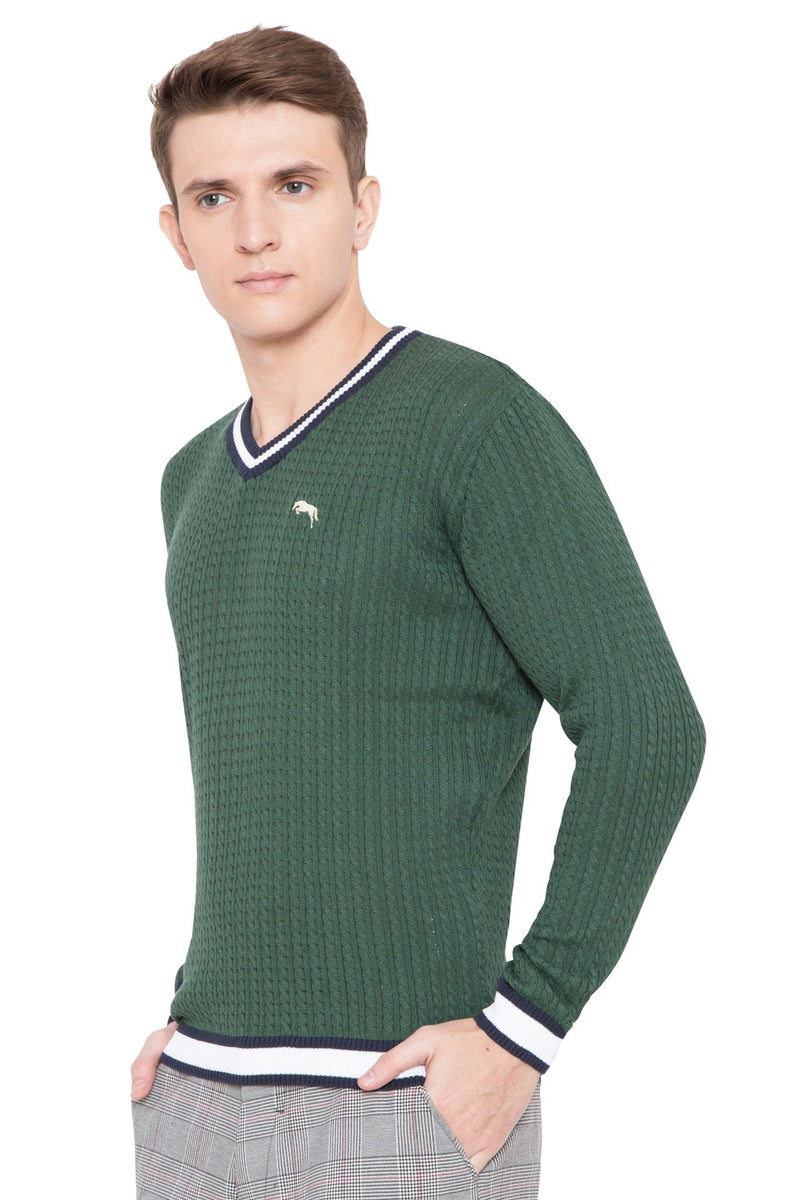 Men Regular Fit Cotton Casual Hunter Lightweight Sweater