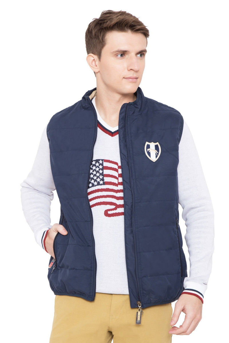 Men Regular Fit Casual Lightweight Winter Jacket