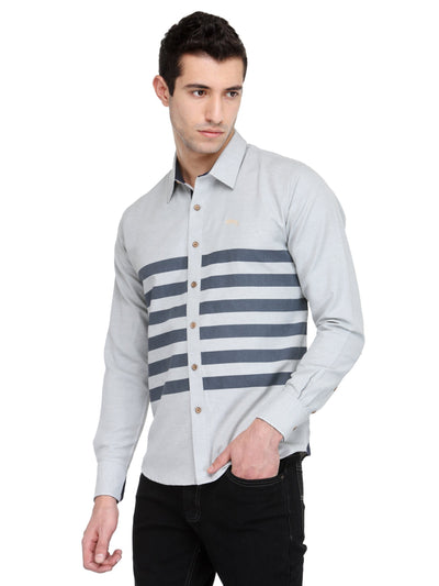 Men Quarry Cotton & Spandex Shirt - JUMP USA