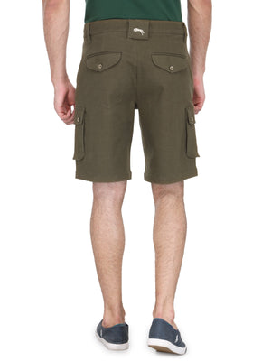 Men's Six Pocket Stylish Cotton Short - Jump USA