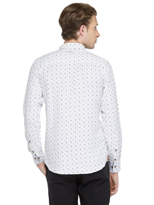 Men's Full Sleeve Printed Shirt