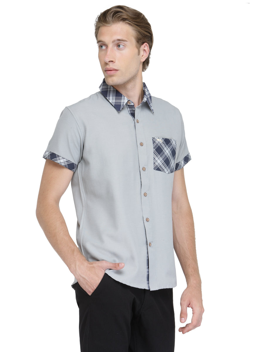 Men's Short Sleeve Patch Pocket Shirt