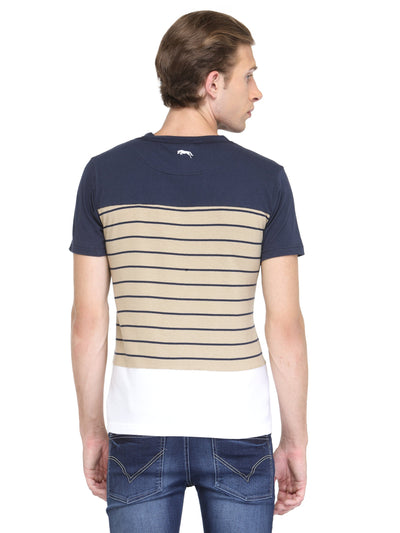 Men Short Sleeve Round Neck T-Shirt - JUMP USA