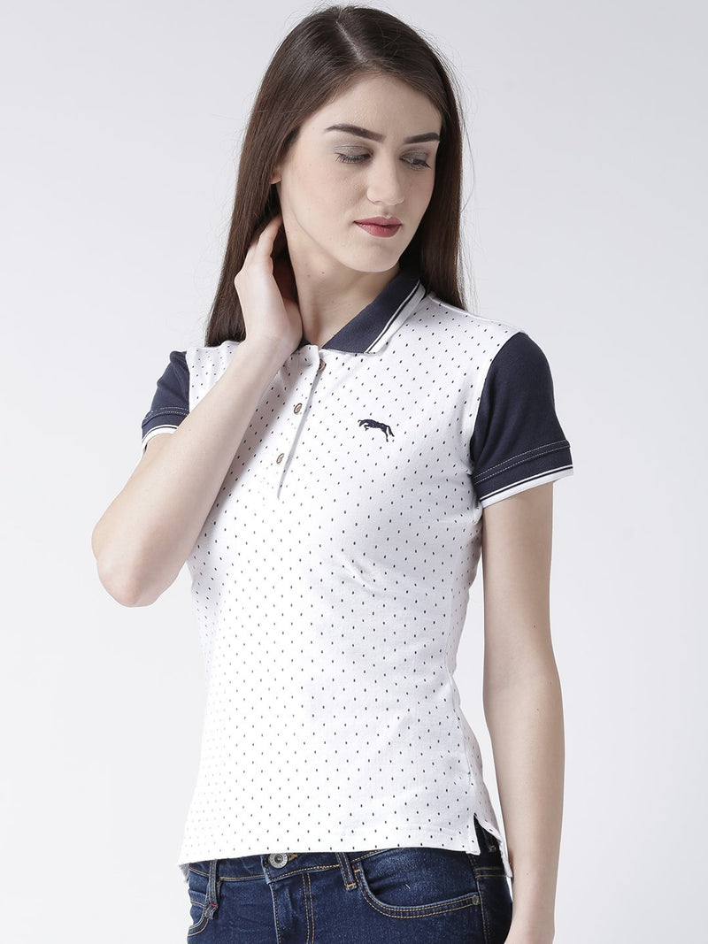 Women Short Sleeves Polo T-Shirt
