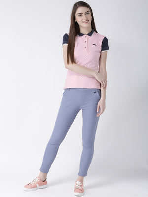 Women Short Sleeves Polo T-Shirt - Jump USA