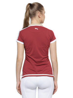 Women's Red Short Sleeves T-Shirt