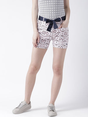 Women Cotton Printed Shorts